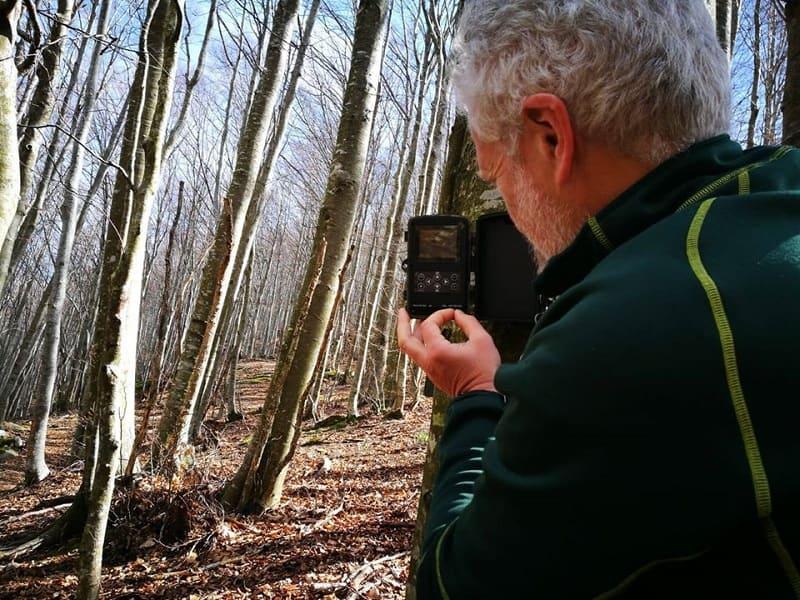 Marco Lucchesi wildlife biologist intervista sul fototrappolaggio