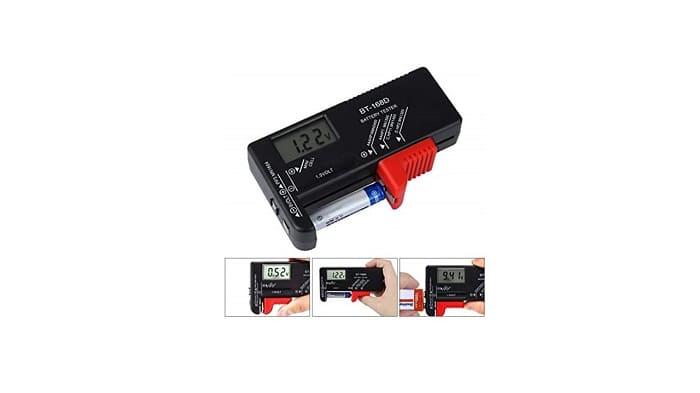 Recensione Tester pile e batterie per fototrappole