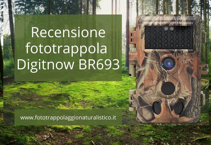 Recensione fototrappola digitnow! BR693