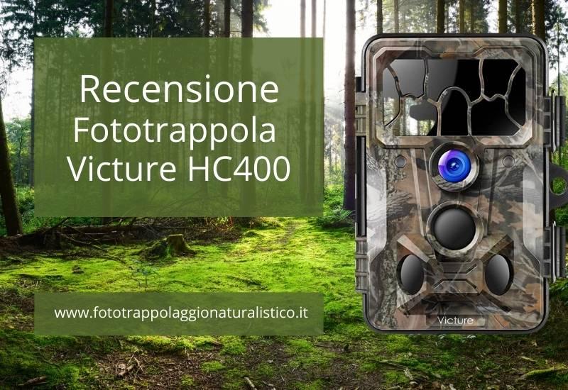 Recensione fototrappola Victure HC400