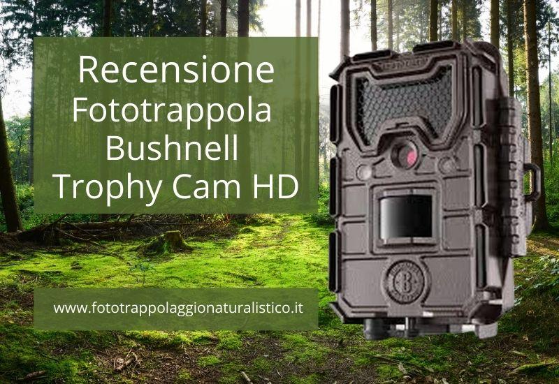 Recensione Bushnell Trophy Cam HD Aggressor