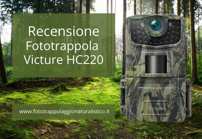 Recensione Fototrappola Victure HC220